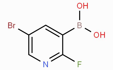 5-溴-2-氟吡啶-3-硼酸