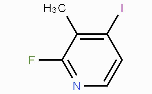 2-氟-3-甲基-4-碘吡啶