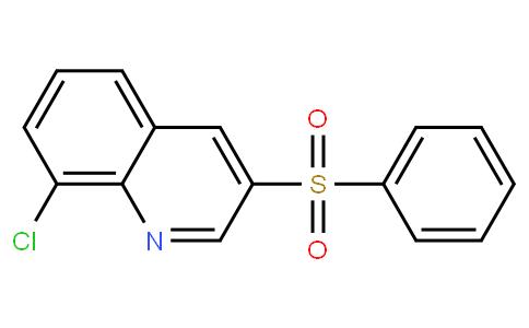 8-chloro-3-(phenylsulfonyl)quinoline