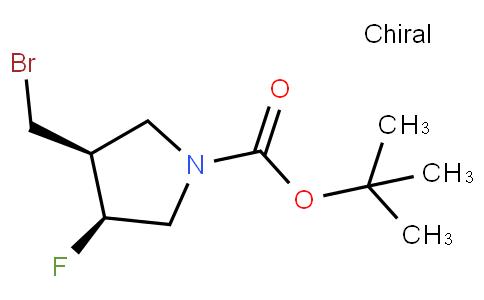 (3S,4S)-3-bromomethyl-1-tert-butoxycarbonyl-4-fluoropyrrolidine