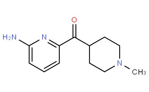 (6-aminopyridin-2-yl)(1-methylpiperidin-4-yl)methanone