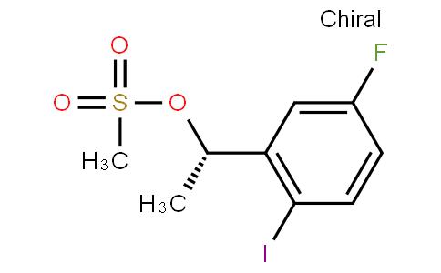 (S)-1-(5-fluoro-2-iodophenyl)ethyl methanesulfonate