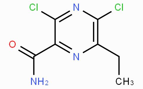 3,5-dichloro-6-ethylpyrazine-2-carboxamide