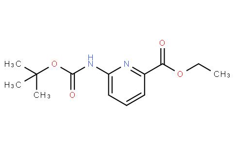 ethyl 6-(tert-butoxycarbonylamino)picolinate