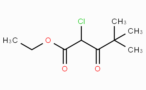 2-chloro-4,4-dimethyl-3-oxopentanoic acid ethyl ester