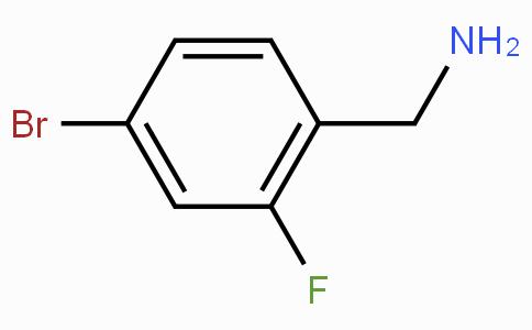4-溴-2-氟苄胺