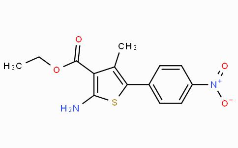 2-Amino-4-methyl-5-(4-nitro-phenyl)-thiophene-3-carboxylic acid ethyl ester