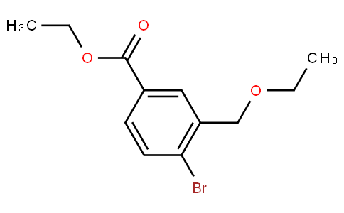 4-bromo-3-ethoxymethyl-benzoic acid ethyl ester