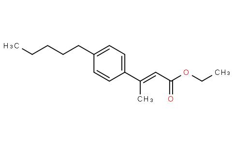 (E)-ethyl 3-(4-pentylphenyl)but-2-enoate