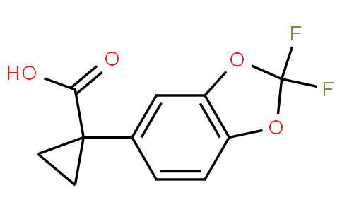 1-(2,2-difluorobenzo[d][1,3]dioxol-5-yl)cyclopropanecarboxylic acid