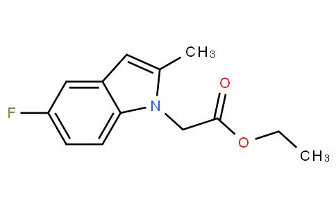 ethyl 2-(5-fluoro-2-methyl-1H-indol-1-yl)acetate