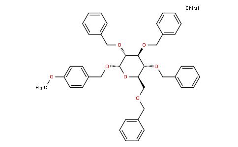 4-methoxybenzyl 2,3,4,6-tetra-O-benzyl-α-D-glucopyranoside