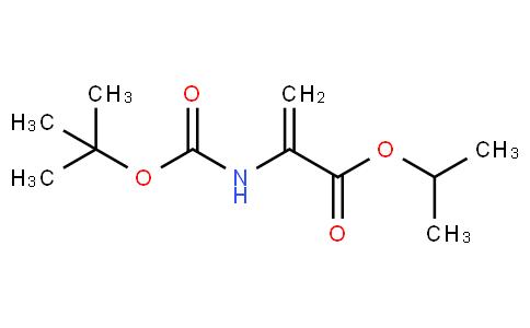 isopropyl 2-((tert-butoxycarbonyl)amino)acrylate