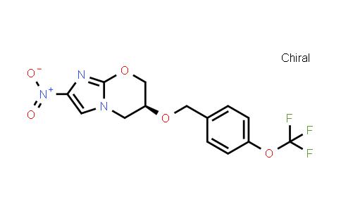 (S)-6,7-二氢-2-硝基-6-[[4-(三氟甲氧基)苯基]甲氧基]-5H-咪唑并[2,1-B][1,3]恶嗪