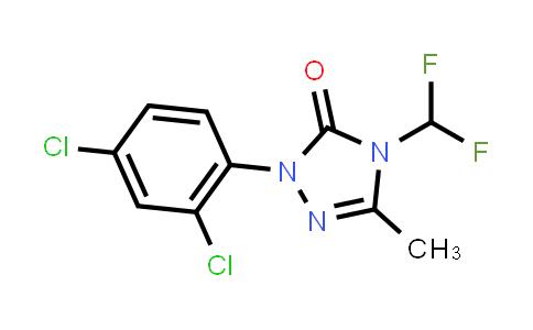 1-(2,4-Dichlorophenyl)-4-(difluoromethyl)-3-methyl-1H-1,2,4-triazol-5(4H)-one