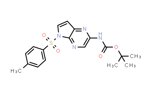 tert-butyl (5-tosyl-5H-pyrrolo[2,3-b]pyrazin-2-yl)carbamate