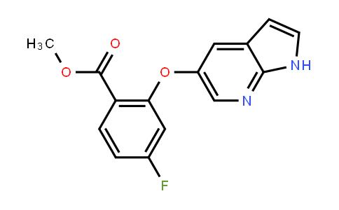 2-[(1H-吡咯并[2,3-b]吡啶-5-基)氧基]-4-氟苯甲酸甲酯