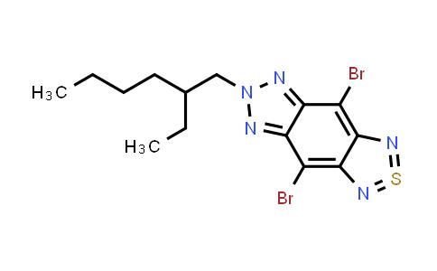 4,8-二溴-6-(2-乙基己基)-[1,2,5]噻二唑[3,4-f]苯并三唑