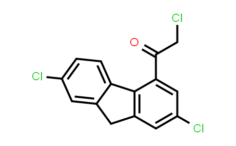 2-氯-1-(2,7-二氯-9h-芴-4-基)乙酮