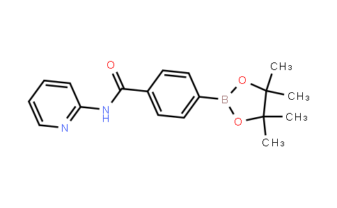 N-(吡啶-2-基)-4-(4,4,5,5-四甲基-1,3,2-二氧杂硼烷-2-基)苯甲酰胺