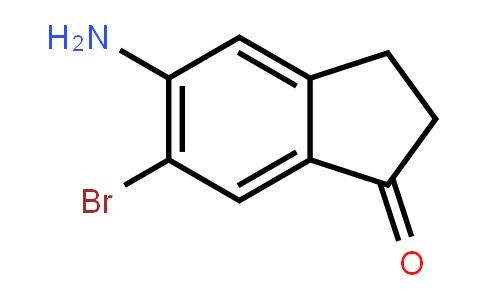 5-氨基-6-溴-2,3-二氢-1H-茚-1-酮