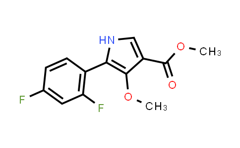 Methyl 5-(2,4-difluorophenyl)-4-methoxy-1H-pyrrole-3-carboxylate