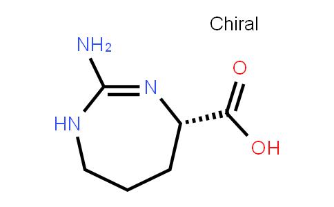 (7S)-2-amino-4,5,6,7-tetrahydro-1H-1,3-diazepine-7-carboxylic acid