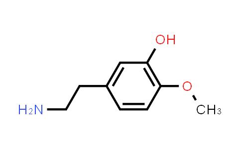 3-Hydroxy-4-methoxyphenethylamine