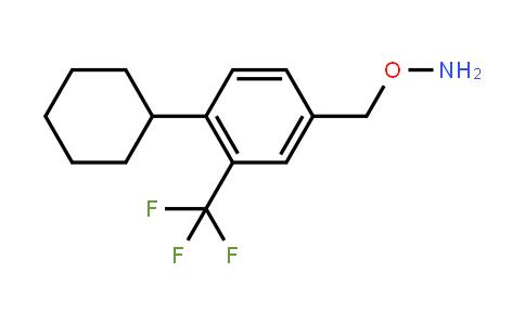 Hydroxylamine, o-[[4-cyclohexyl-3-(trifluoromethyl)phenyl]methyl]-