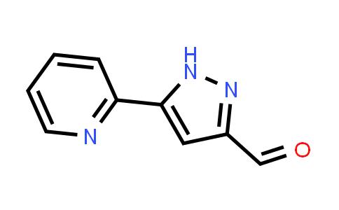 5-(Pyridin-2-yl)-1H-pyrazole-3-carbaldehyde