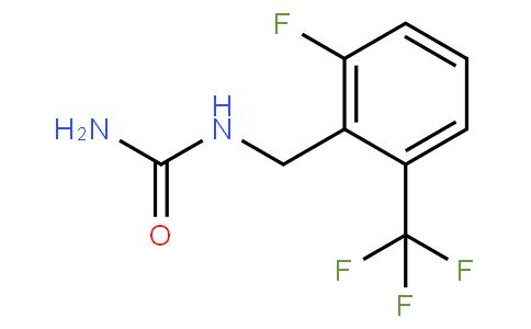1-(2-Fluoro-6-(trifluoromethyl)benzyl)urea
