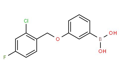 3-(2-氯-4-氟苯基甲氧基)苯硼酸