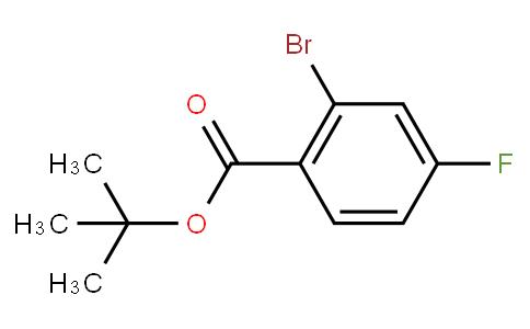 4-溴-2-氟苯甲酸叔丁酯