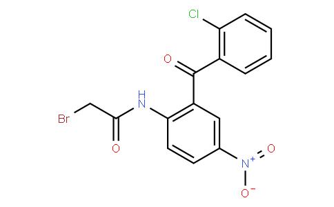 2-溴乙酰氨基-5-硝基-2'-氯二苯甲酮