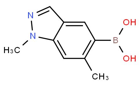 1,6-二甲基-1H-吲唑-5-硼酸