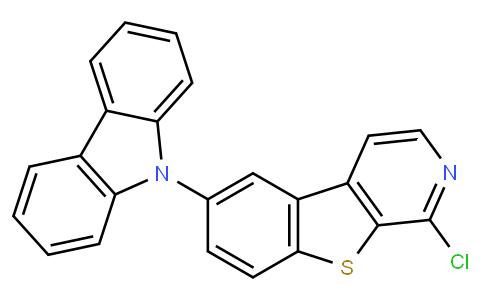 6-(9H-carbazol-9-yl)-1-chlorobenzo[4,5]thieno[2,3-c]pyridine