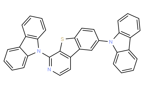 1,6-Di(9H-carbazol-9-yl)[1]-benzothieno[2,3-c]pyridine