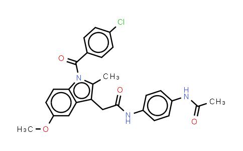 N-(4-Acetamidophenyl)indomethacin amide