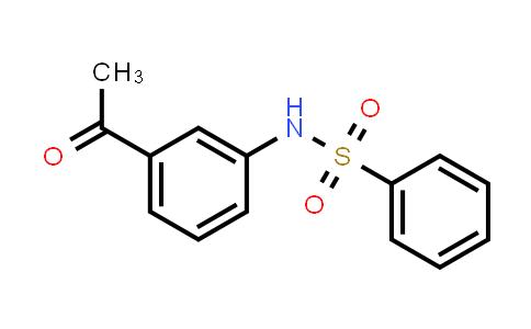 N-(3-Acetylphenyl)benzenesulfonamide