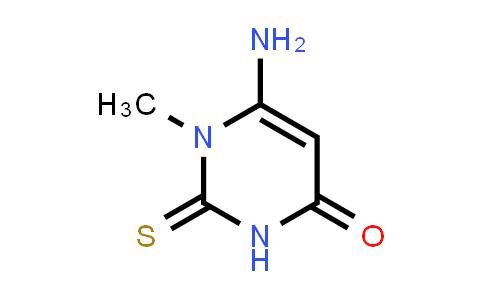 6-Amino-1-methyl-2-thioxo-2,3-dihydropyrimidin-4(1H)-one