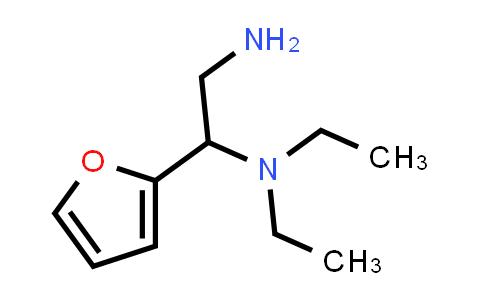 N-[2-Amino-1-(2-furyl)ethyl]-N,N-diethylamine