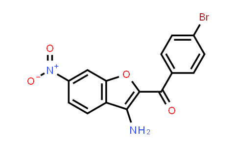 3-Amino-2-(4-bromobenzoyl)-6-nitrobenzofuran