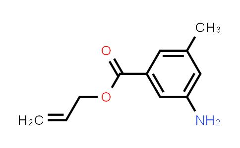 3-Amino-5-methyl-benzoic acid-2-propenyl ester