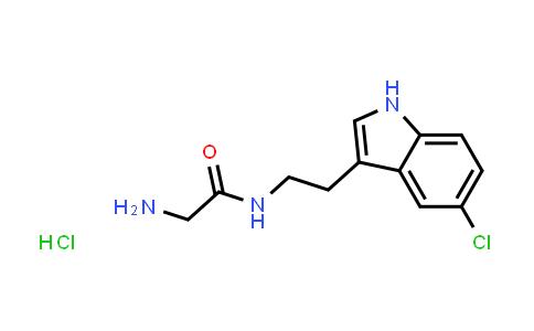 2-Amino-N-[2-(5-chloro-1H-indol-3-yl)ethyl]acetamide hydrochloride