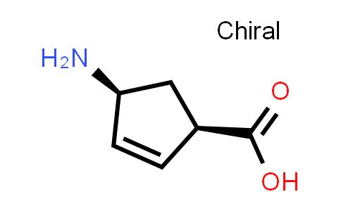 (1R,4S)-4-氨基环戊-2-烯甲酸