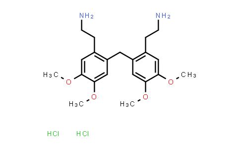 (2-{2-[2-(2-Aminoethyl)-4,5-dimethoxybenzyl]-4,5-dimethoxyphenyl}ethyl)amine dihydrochloride