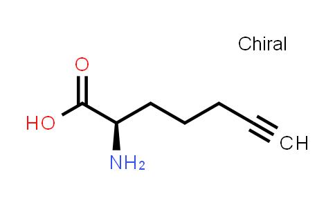 (2R)-2-Aminohept-6-ynoic acid
