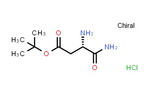 L-Aspartic acid beta-tert-butyl ester alpha-amide hydrochloride