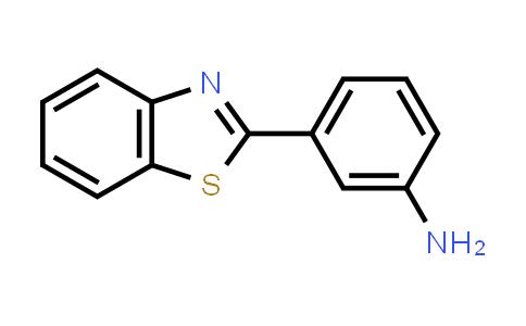 3-(1,3-benzothiazol-2-yl)aniline