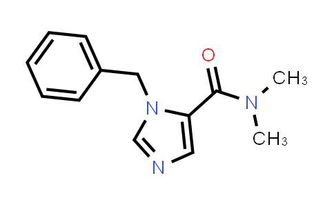 1-Benzyl-N,N-dimethyl-1H-imidazole-5-carboxamide